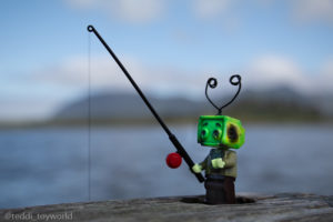 Ray Tenny goes fishing - @teddi_toyworld