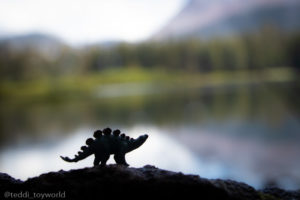 Stego by the lake - @teddi_toyworld