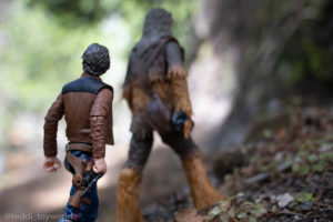 Han and Chewie in the woods - @teddi_toyworld