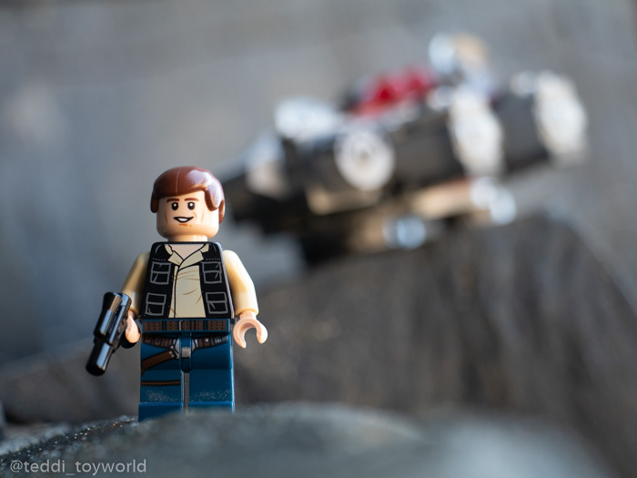 Lego Han Solo and the Falcon - @teddi_toyworld