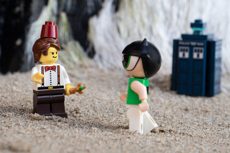 Lego Doctor Who and Buttercup - @teddi_toyworld