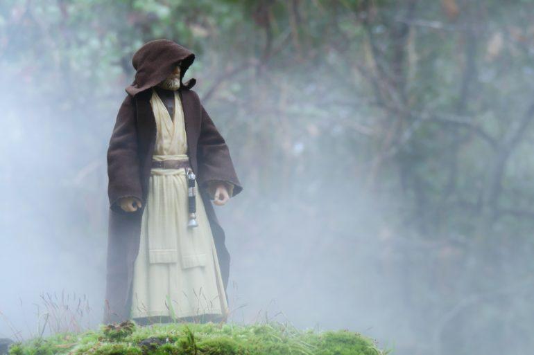 Obi Wan in the Fog by @actionstuff_mini