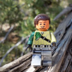 Kanan on a log - @teddi_toyworld