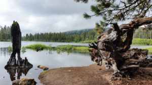 Manzanita Lake, California