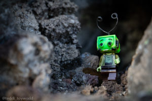 Coming out of the cave - @teddi_toyworld