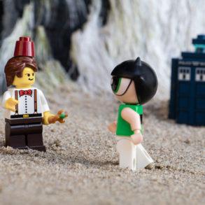 Lego Doctor Who and Buttercup - @teddi_toyworld