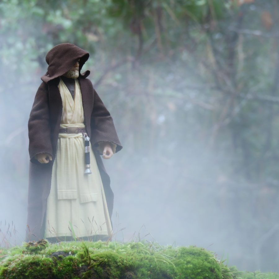 Obi Wan in the Fog by @actionstuff_mini